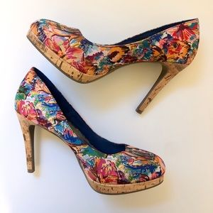 Fioni Floral Colorful Heels